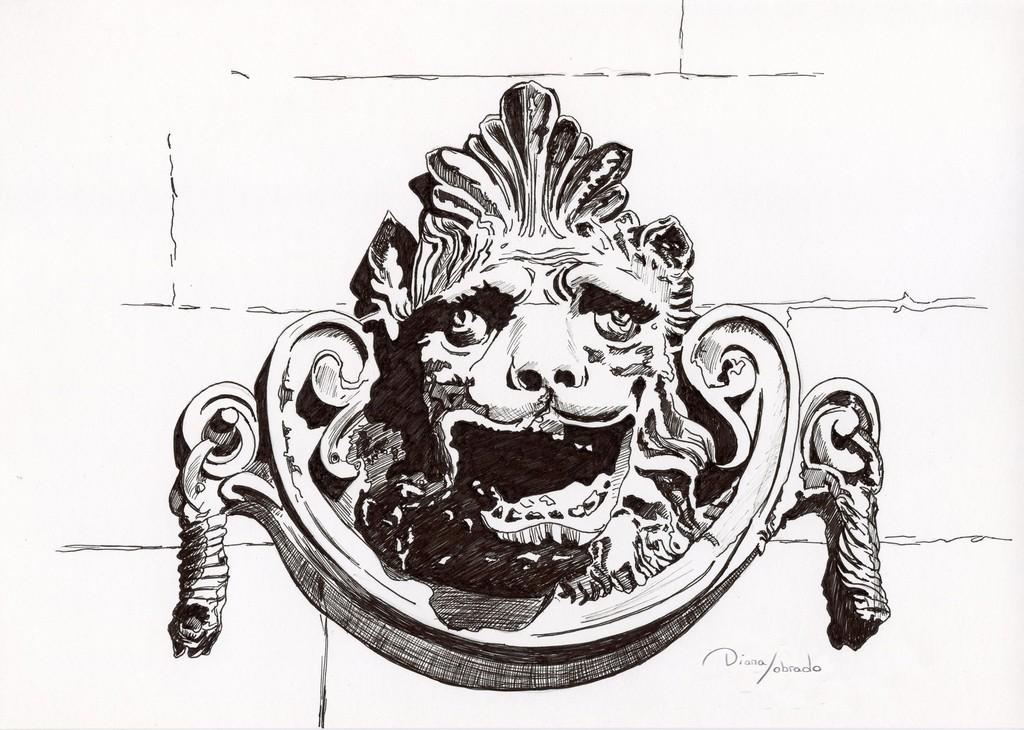 Boca león fuente