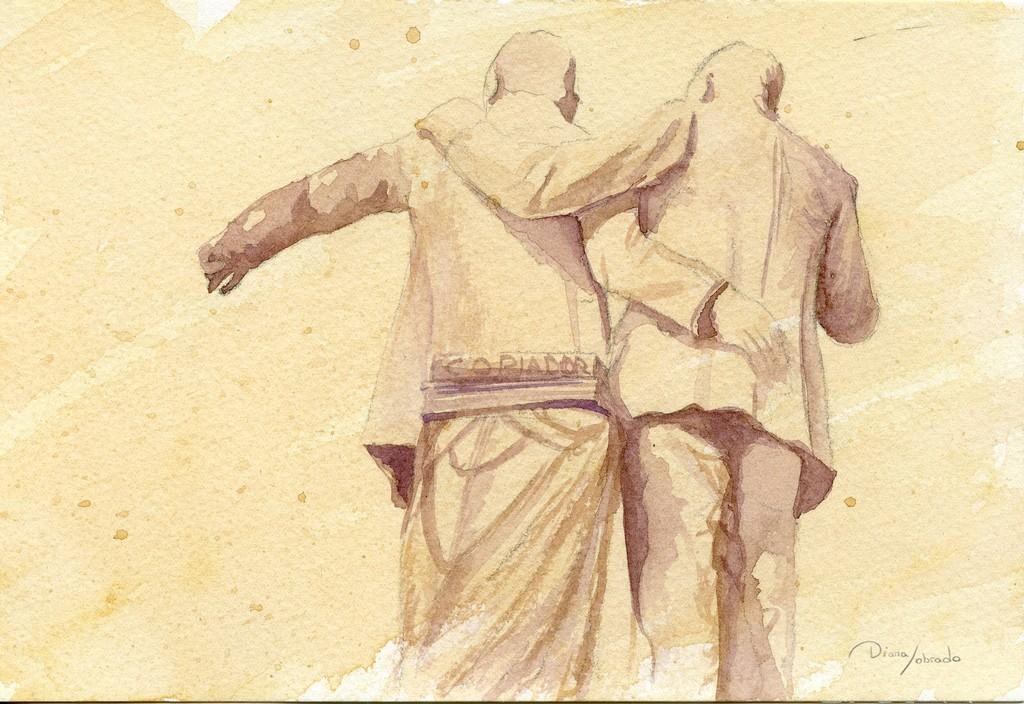 Escultura Hermanos